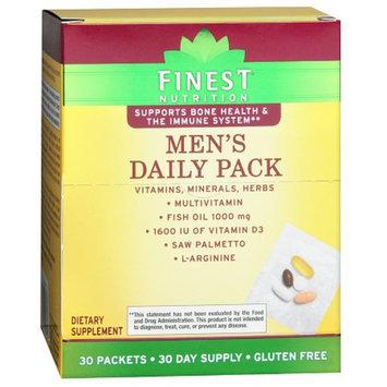 Finest Nutrition Multi Vitamin Men Pouch Combo Pk