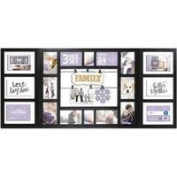 Mainstays 3-Piece Frame Set, 24-Opening Black, Family