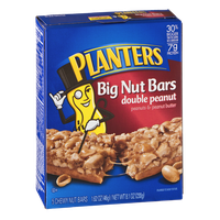Planters Big Nut Bars Double Peanut - 5 CT