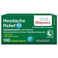 Walgreens Headache Relief PM Tablets