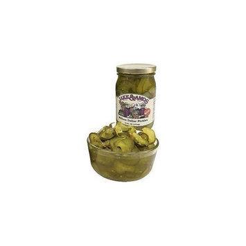 Jake & Amos Million Dollar Pickles 16oz - 12 Jars