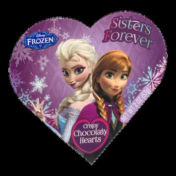 Frankford Disney Frozen Crispy Chocolaty Hearts