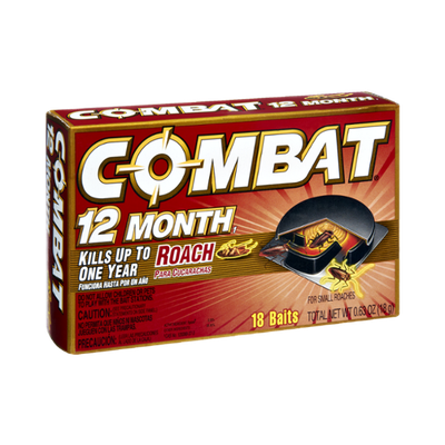Combat 12 Month Small Roach Baits - 18 CT