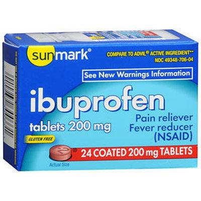Sunmark Ibuprofen, 200 mg, 24 each by Sunmark