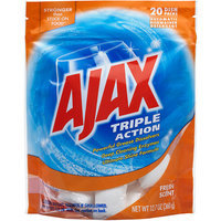 Ajax Triple Action Green Apple Scent Automatic Dishwasher Detergent