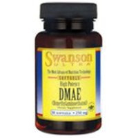 Swanson Ultra High Potency Dmae 250 mg 30 Sgels