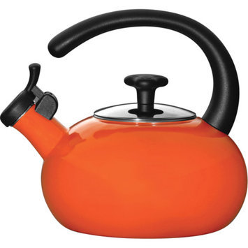 Rachael Ray Red Whistling Tea Kettle 1.5-qt.