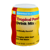 Guaranteed Value Tropical Punch Drink Mix