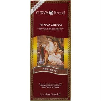 Surya Brasil: Natural Henna Cream, Chocolate 2.31 oz