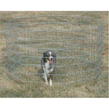 General Cage-Zinc Plated Dog Exercise Pen
