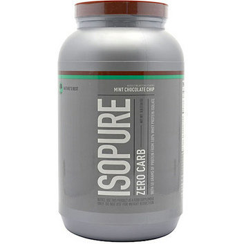Nature's Best Isopure Zero Carb Mint Chocolate Chip Protein Drink Mix Powder