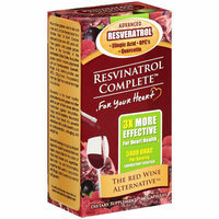 Nutritional Fitness, Inc. : Resvinatrol Complete Capsules Dietary Supplement