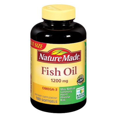 Nature Made Fish Oil Dietary Supplement - 180 Softgels