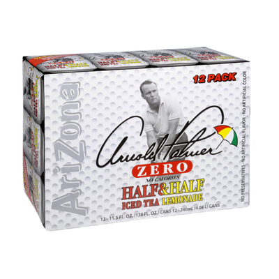 AriZona Arnold Palmer Zero Half & Half Ice Tea Lemonade