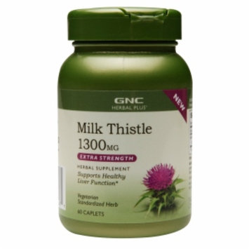 Gnc GNC Herbal Plus Milk Thistle 1300 MG