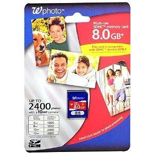 Walgreens Photo Sdhc Card 8Gb