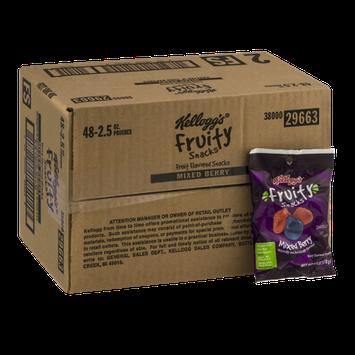 Kellogg's Fruity Snacks Mixed Berry - 48 CT