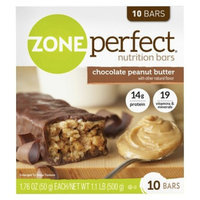 ZonePerfect Chocolate Peanut Butter Nutrition Bars - 10 Count
