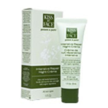 Kiss My Face Intensive Repair Night Creme for Face & Body-1 oz