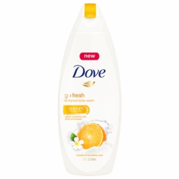 Dove Go Fresh Revitalize Body Wash, Mandarin & Tiare Flower Scent