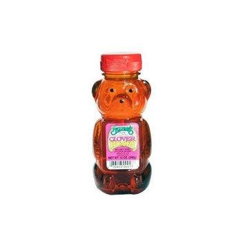 Mclrne Mclures Clover Bear Honey, 12 Ounce -- 12 per case.
