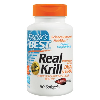 Doctor's Best Real Krill Enhanced with DHA & EPA