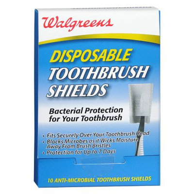Walgreens Disposable Toothbrush Shields