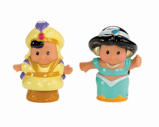 Fisher Price Fisher-Price - Little People - Disney Princess Jasmine & Aladdin