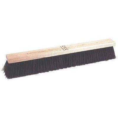 TOUGH GUY 4KNC4 Push Broom, PP, Contractor Broom