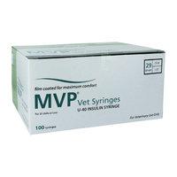 Masters Healthcare MVP Vet u-40 Insulin Syringes 29 Gauge .5cc 1/2 in - 100 ea