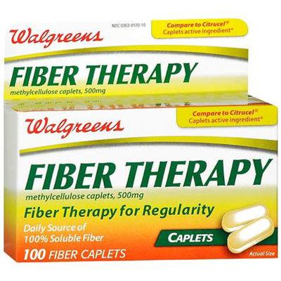 Walgreens Fiber Therapy Caplets