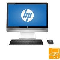 Lucy and Michael HP Refurbished Silver Envy TS 23-O014 All-in-One PC with Intel Core i5-4570T Processor, 8GB Memory, 23
