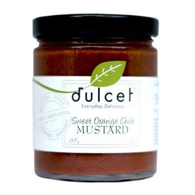 Dulcet Cuisine Dulcet Sweet Orange Chile Mustard 7 Oz