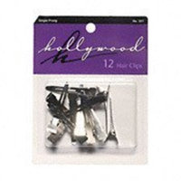 Hollywood Prong Clips 12 Count (Single Prong)