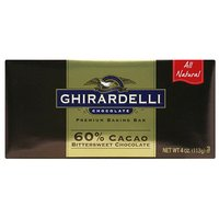 Ghirardelli Chocolate Premium Cacao Bittersweet Chocolate Baking Bars