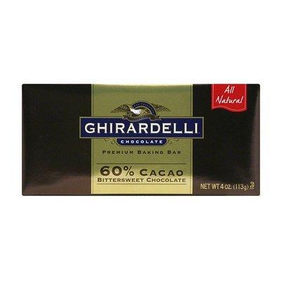 Ghirardelli Chocolate Premium Cacao Bittersweet Chocolate Baking Bars