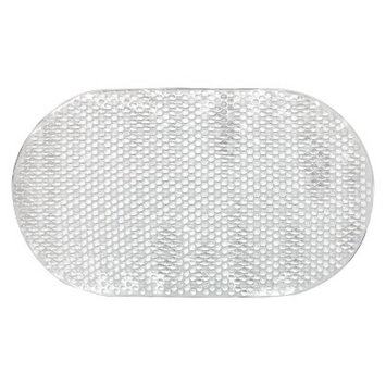 Room Essentials Small Bubble Bath Mat - Clear