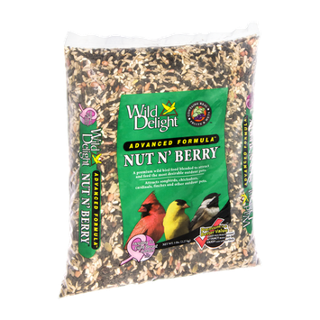 Wild Delight Nut N' Berry Wild Bird Food Advanced Formula