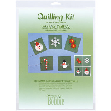 Lake City Craft Christmas Cards & Tags Quilling Kit