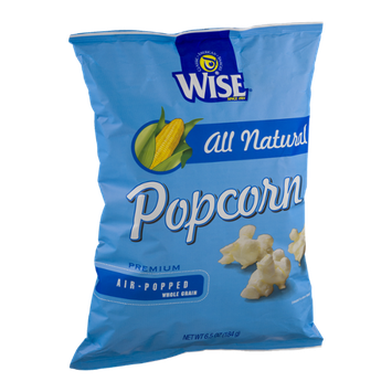 Wise Air-Popped Whole Grain Popcorn