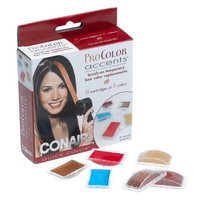 Conair Pro QC1RP Color Accents Temporary Hair Color Kit, Refill