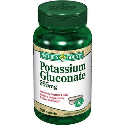 Nature's Bounty Potassium Gluconate 595mg