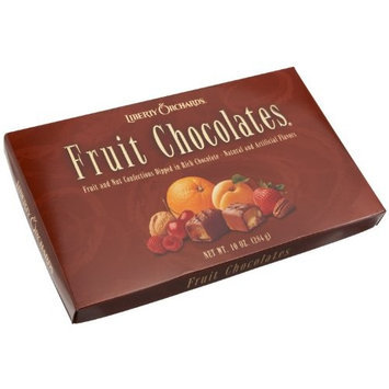 Liberty Orchards Fruit Chocolates - Fruit and Nut Confections Dipped in Rich Chocolate