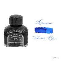 Diamine 80 ml Bottle Fountain Pen Ink, Florida Blue