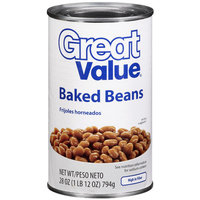 Great Value: Baked Beans, 28 Oz