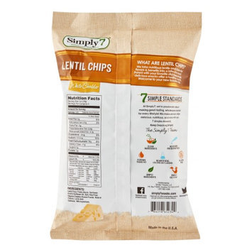 Simply 7 CHIPS, LENTIL, WHT CHEDDAR, (Pack of 12)