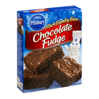 Pillsbury Brownie Mix Chocolate Fudge Family Size