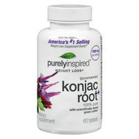 Purely Inspired Konjac Root 60s