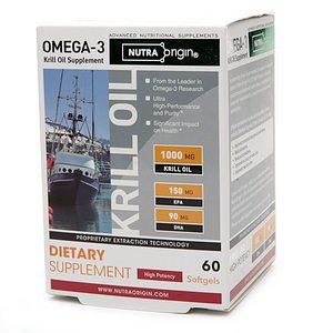 NutraOrigin Omega-3 Krill Oil with Astaxanthin