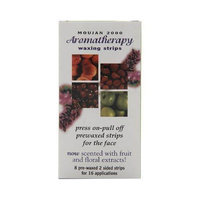 Moujan 2000 Aromatherapy Waxing Strips for Face 16 Applications